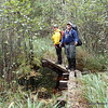 Soon after two hikers from Duluth got lost on the Kekekabic Trail, the Forest Service had this board walk rebuilt outside of BWCA.  Nice job!