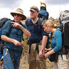 "We only look like we are lost.   Paul, Emmett and Jackie review the course on McKenzie map  <a href=""http://www.bwcamaps.com/"">http://www.bwcamaps.com/</a>."