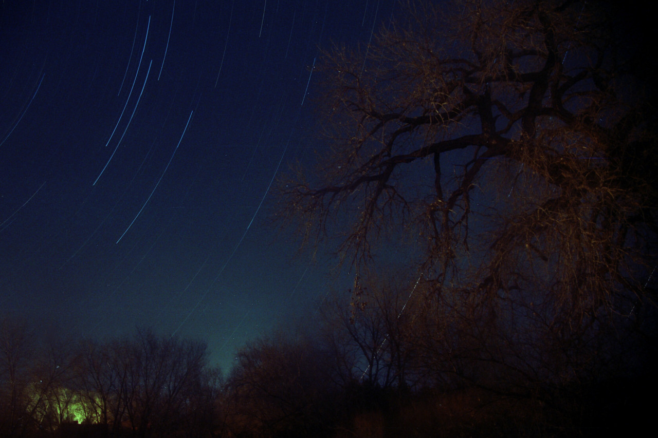 Star Trails waiting for a Geminid.
