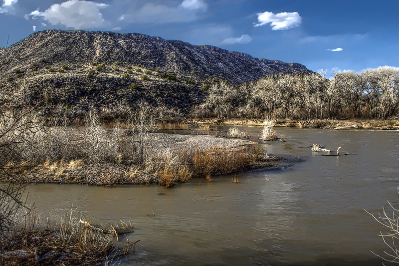 HDR Version of Algodones Conservancy Area Mesa.