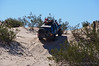 Eric attacking the dunes in his 4-Runner