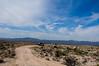 Toyota Convoy transversing the Mojave Desert