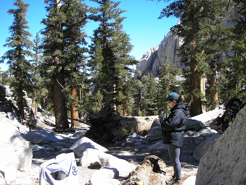 PA060003 Monica near Lone Pine Lake