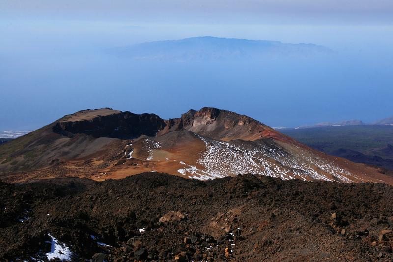 Volcanos on Tenerife