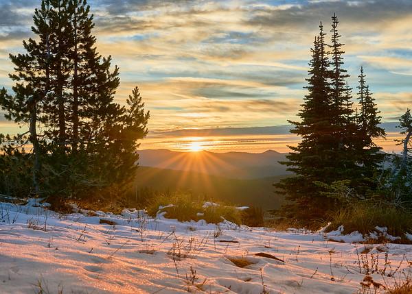 Sunrise Over the East Hills
