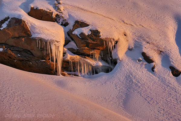 Frozen overhang