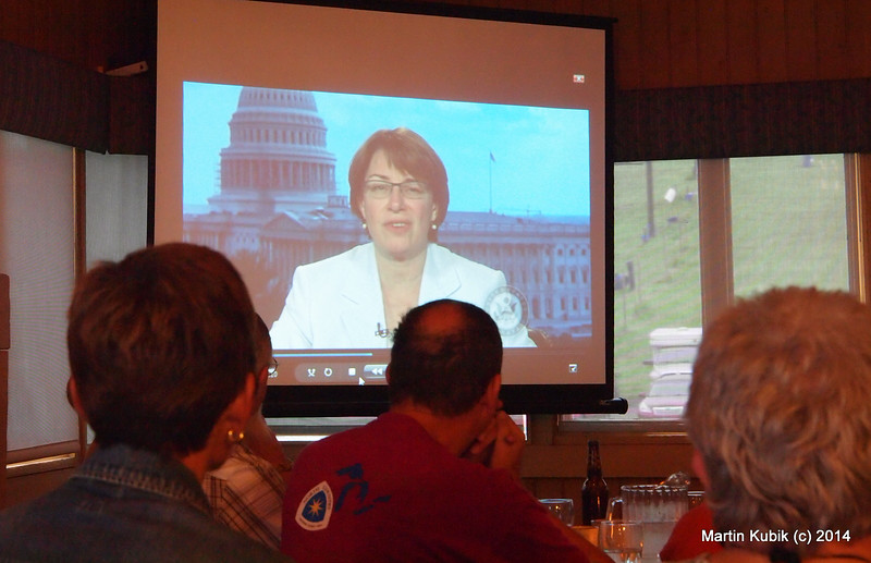 Amy Klobuchar has helped to renew the Recreational Trails Program grants and facilitated the legislature for the North Country Trail bypass that will go via Kekekabic Trail.   Case in point:  Without advocacy in 1990 by which time the USFS abandoned the trail and advocacy again after 1999 Storm of the Century when USFS was going to abandon the Kek again, and without scores of volunteers who maintained the Kek over the years....  there would be no NCTA bypass because the Kekekabic Trail would be gone.