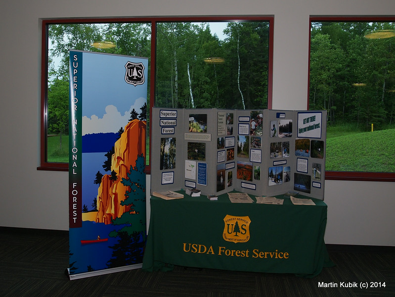 USFS represented at the event.