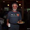 """I did not get the name, but this man wore a T-shirt with a catchy slogan!  And he is a happy volunteer!   An idea for Superior National Forest:  """"Pow Wow Trail - 1,800 treefalls"""" followed """"Trails don't blaze themselves.""""   You know you want it!"""