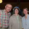 And here is me, Martin Kubik working the crowd to support BWCAW Trails in Danger.   With Florence Hedeen and Duluth Mayor's wife (is that right?), I will get her name later.
