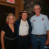 Mark Weaver's predecessor and his wife (names have been withheld to protect the retirees) at the dinner on Thursday.  Does not he look like a park ranger?
