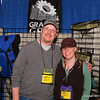 """Direct to you from Two Harbors, Minnesota it's Dave and Cheri from Granite Gear.  Granite Gear makes great stuff and donated grand prize for our Annual Meeting.  Thank you Granite Gear!  Find your favorite backpack and more at <a href=""""http://granitegear.com/"""">http://granitegear.com/</a>"""