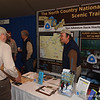 """Impressive booth of the NCTA attracted many EXPO visitors.  Look up <a href=""""http://northcountrytrail.org/"""">http://northcountrytrail.org/</a>"""