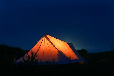 Camping night in Texel