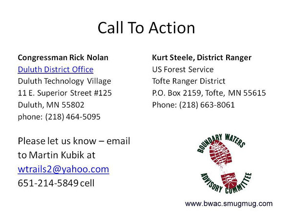 POW WOW Trail - Call to Action