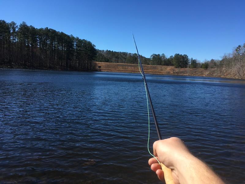Fishing at Sweetwater Lake