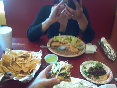 Finished the weekend with some good Mexican at Efren's Deli Shop in Oceano