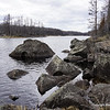 South Wilder shoreline.  One good thing about Boundary Waters, you don't have to worry about water.  In spring time, there are many streams (fun!) and you will need about 1 qt every 2 hours at temps 60 deg F and lower.  At 70 degrees and sunny weather, you will need 1 qt per hour with electrolytes or food.  Keep in mind that you will be making about 1 mile per hour here because of the terrain and treefalls.