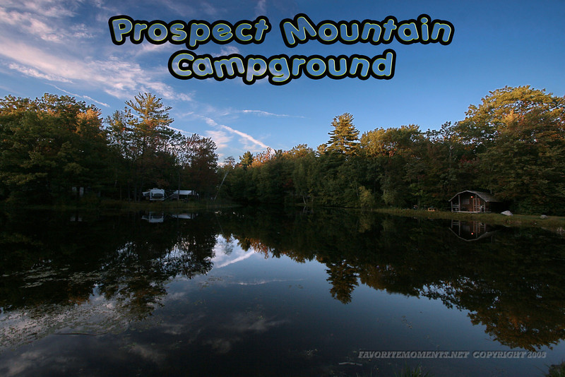 Prospect Mountain Campground Granville, Ma