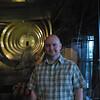 Stu inside the Spruce Goose!