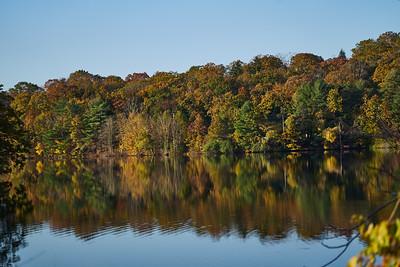 Lake Whitney Fall Reflections 1