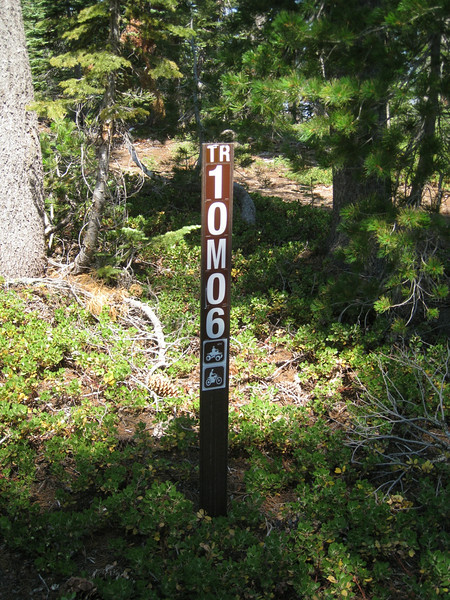 OMG, an actual OHV trail!