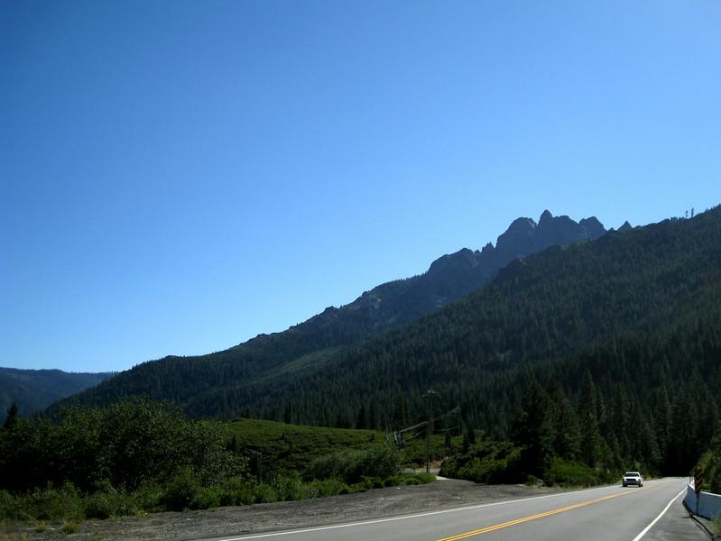 Sierra Buttes above SR-49