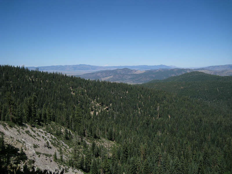 Sierra Valley in the distance