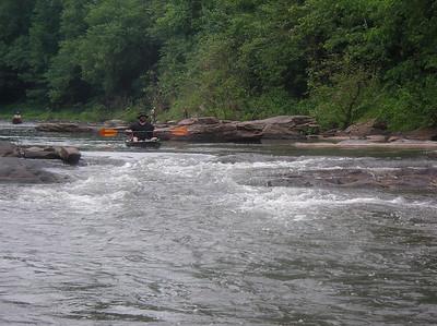 Paddling Shermans Creek June 17 2007 005