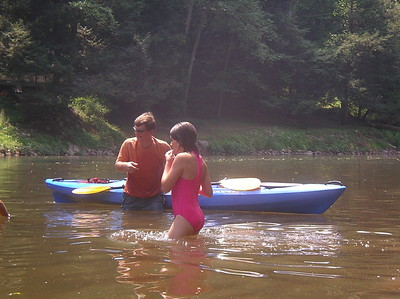 Paddling Shermans Creek June 17 2007 003