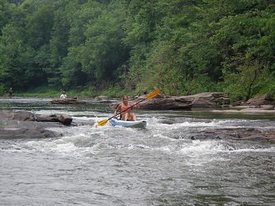 Paddling Shermans Creek June 17 2007 010