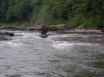 Paddling Shermans Creek June 17 2007 006