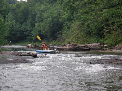 Paddling Shermans Creek June 17 2007 009