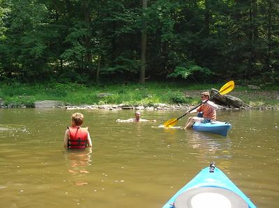 Paddling Shermans Creek June 17 2007 002