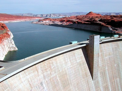 Glen Canyon Dam  -  Page,  AR