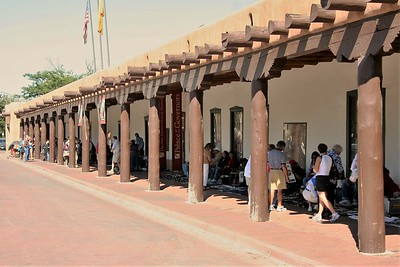 Palace of the Govenors  -  Santa Fe New Mexico