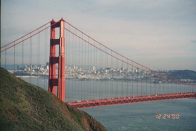 Golden Gate Bridge  &  San Francisco