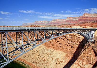 Navajo Bridge,  near Lees Ferry, AZ