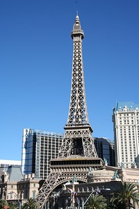 Eifel Tower at The Paris Hotel  Las Vegas