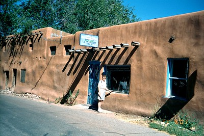 Oldest House  -  Santa Fe,  New Mexico