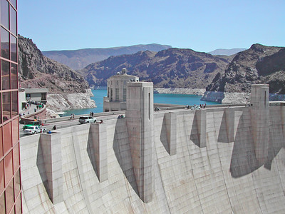 Hoover Dam, from the Nevada side