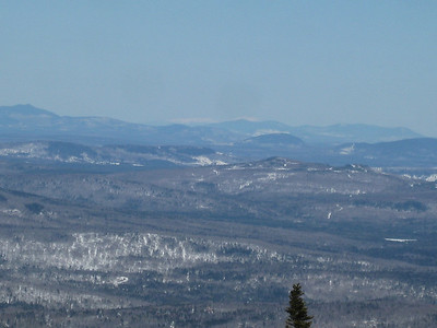 Mt. Katahdin on the horizon.