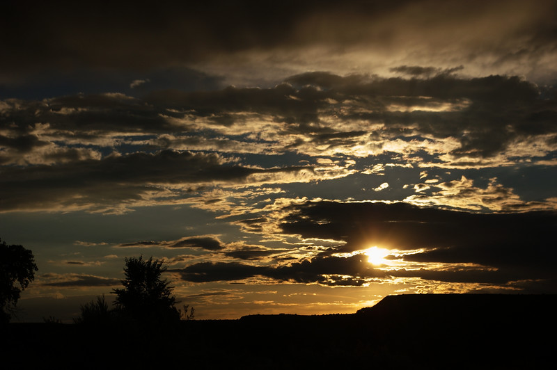 <center><h1>July 4th Sunset over the Algodones Mesa</h1></center>