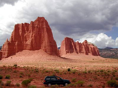 Unnamed Towers in Upper Cathedral Valley, Capitol Reef NP, Utah