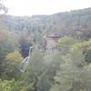 Piney Creek Falls, TN  Falls Creek Falls State Park.   Road side view.  Oct 2012