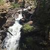 Adams Falls, CO, 0.9 mi round trip easy walk, south of Rocky National Park near Lake Grandby