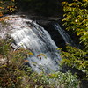 Cane Creek Cascades, TN inside Falls Creek Falls State Park, road side view.  Oct 2012.