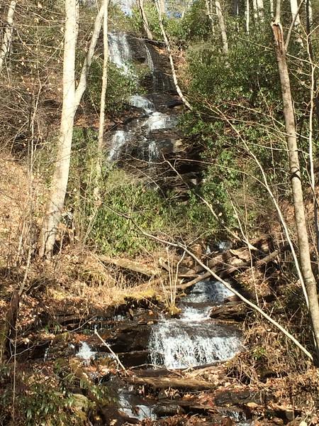 Twin Falls, NC near Brevard.