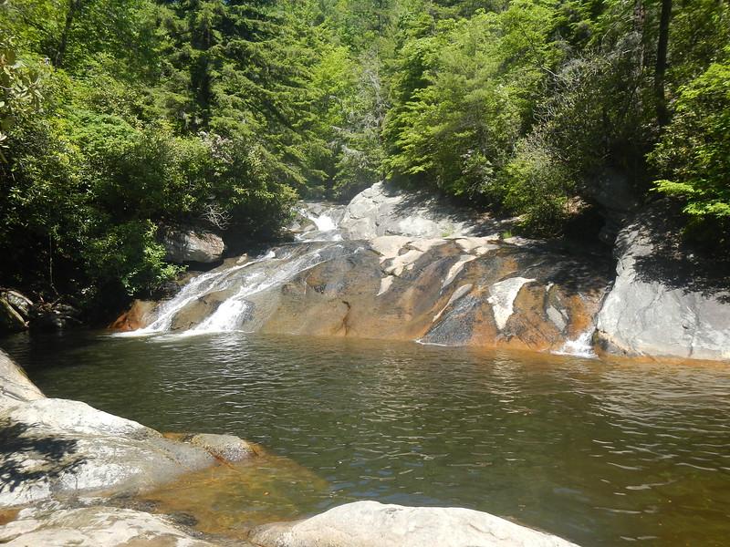 Upper Creek (Upper) Falls,  NC