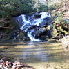 Crane Falls, NC  near Secret Falls.  Dec 2011.  AKA Lower Crane Creek Falls
